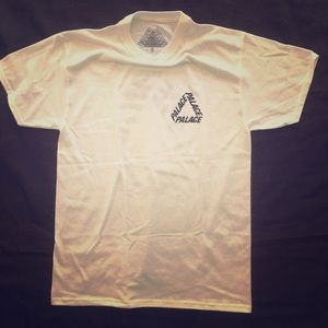 Palace P3 Triferg T shirt white and black